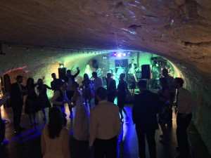 Firefly performing last night in the Vaulted Cellar at Kings Head Hotel wedding