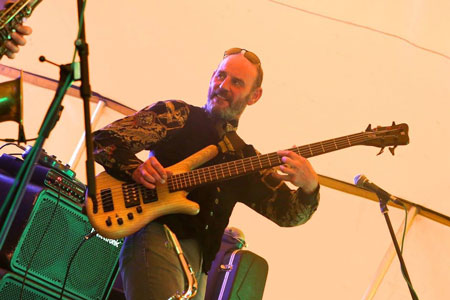 Meet the band – Mark Butler bass player for Firefly band