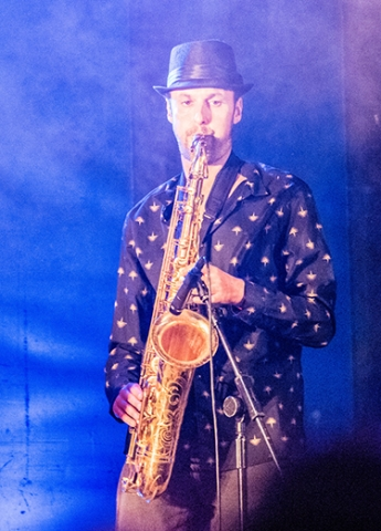 Firefly functions band for hire saxophone soloist