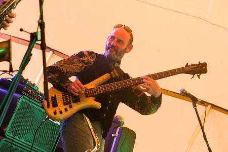 Meet the band – Mark Butler bass player for Firefly band