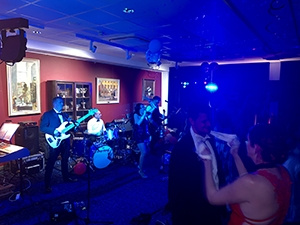 Firefly band perform at Ministry of Defence Lyneham Officers' Mess Summer Ball